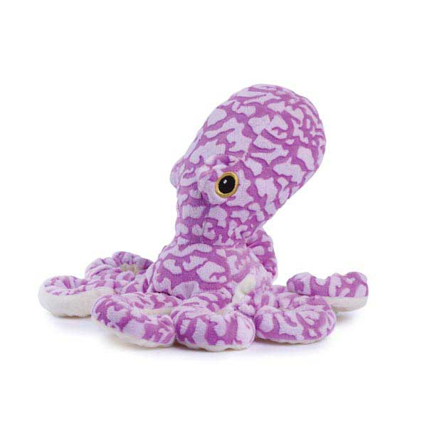 Zanies Curly Octopus Dog Toy - Purple