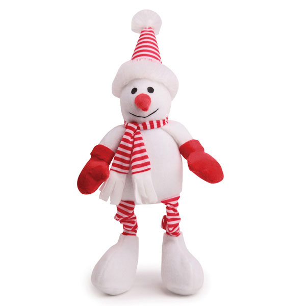 Zanies Kringle Club Snowman Dog Toy