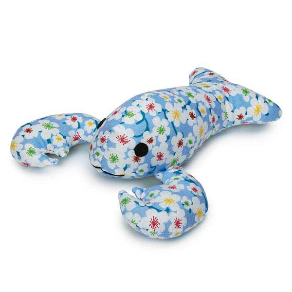 Zanies Lovely Lobster Dog Toy - Blue