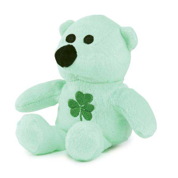 Zanies Lucky Bear Dog Toy