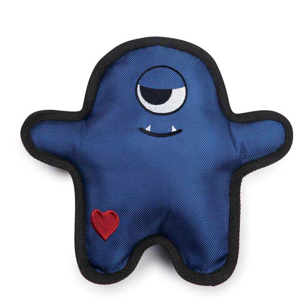 Zanies Mischievous Monster Dog Toy - Blue