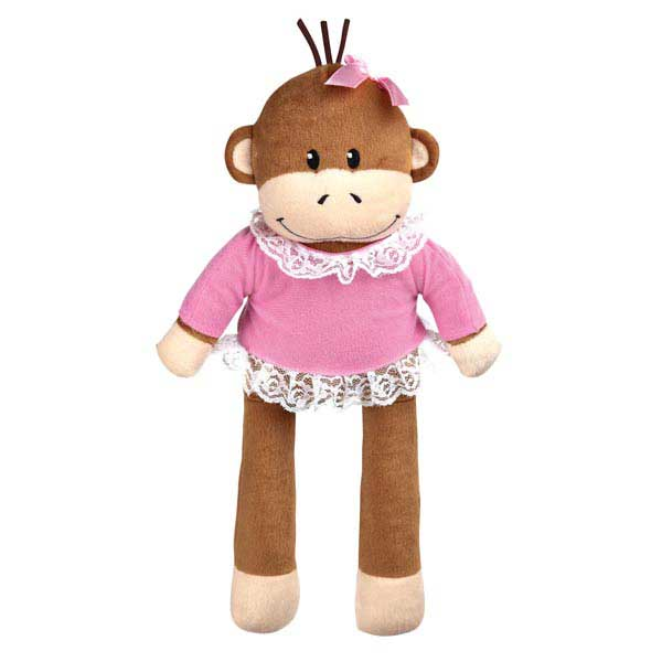 Zanies Monkey Business Friend Dog Toy - Tiff
