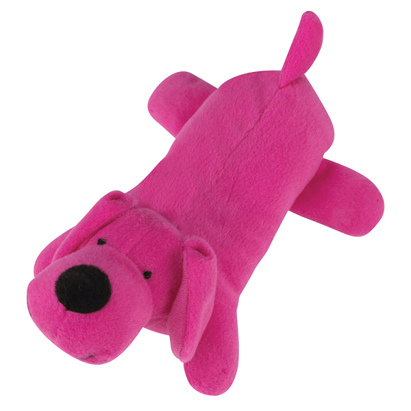 Zanies Neon Big Yelpers Dog Toy - Hot Pink