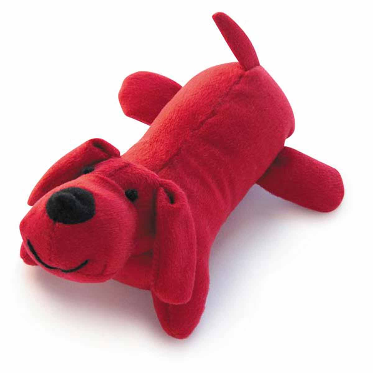 Red Toy Dogs : Zanies neon yelpers dog toy red with same day shipping
