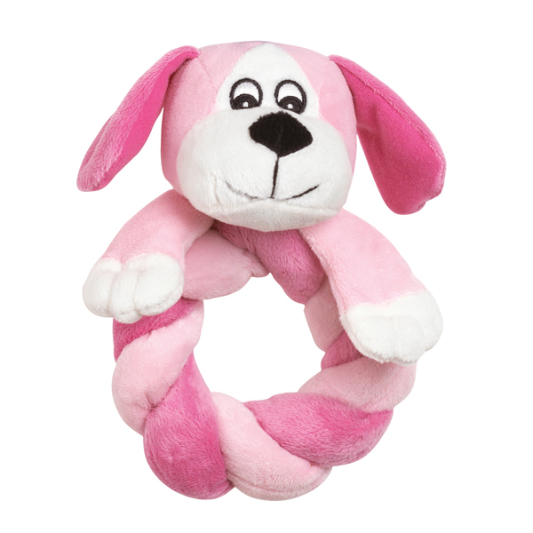 Zanies Puppy Ring Thing - Pink