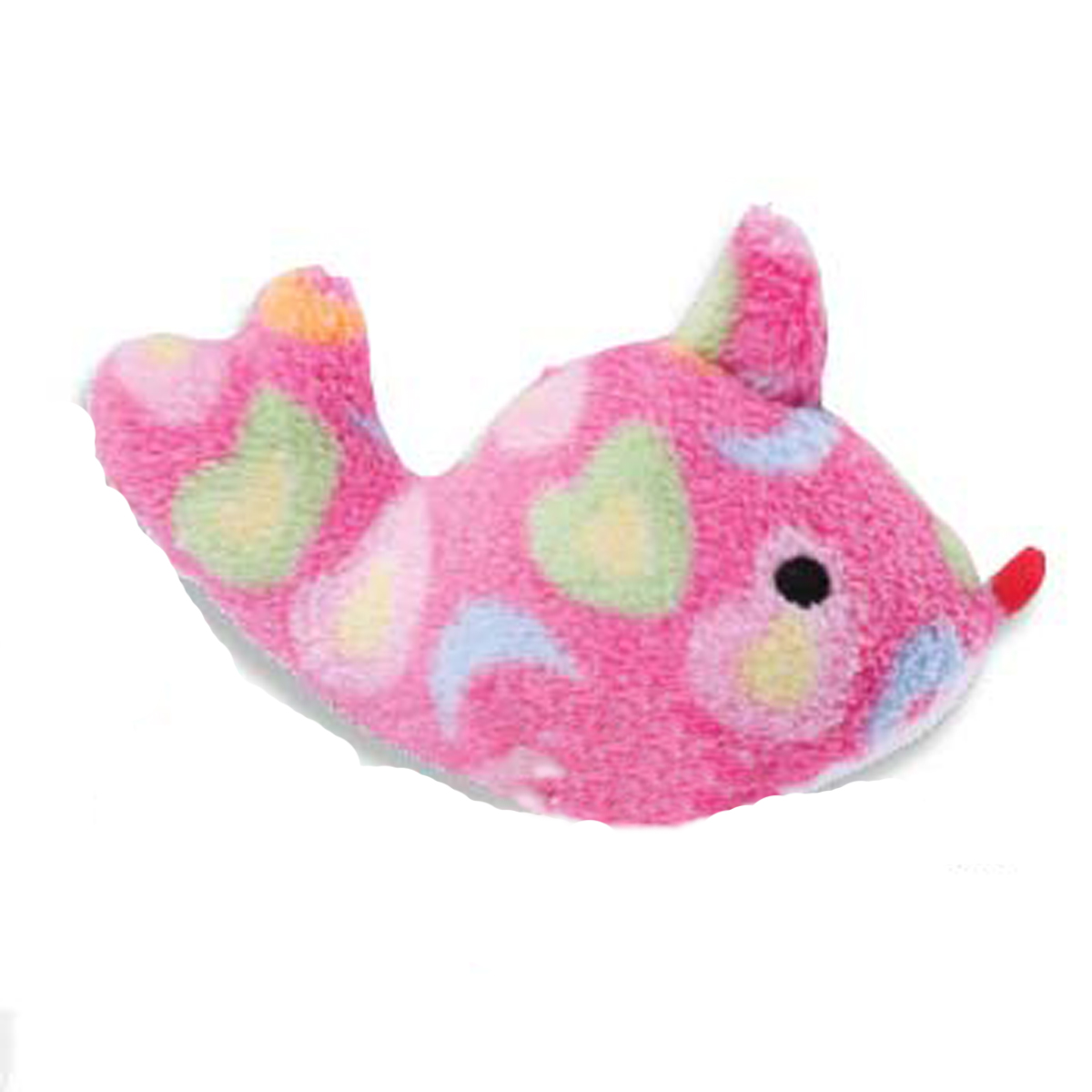 Zanies sea charmers dog toy pink fish with same day for Fish dog toy