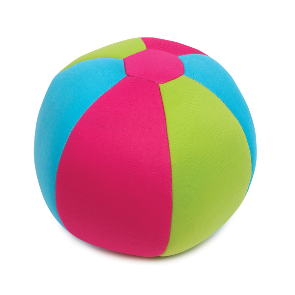 Zanies Surf's Up Beach Ball Dog Toy