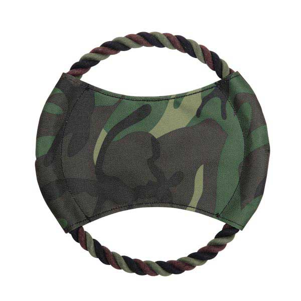 Zanies Toughstructable Flyer Dog Toy - Green