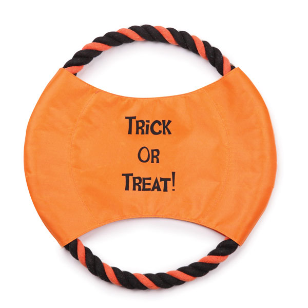 Zanies Trick or Treat Rope Flyer