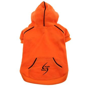 Sport Dog Hoodie - Orange Popsicle starting at $8.00!