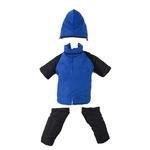2 in 1 Dog Snowsuit - Blue