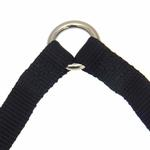 View Image 3 of 2-Way Coupler Leash by Zack & Zoey - Jet Black