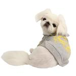 View Image 2 of Accolade Dog Hoodie by Pinkaholic - Gray