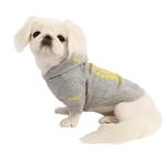 View Image 4 of Accolade Dog Hoodie by Pinkaholic - Gray