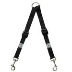 View Image 1 of Adjustable Coupler Dog Leash - Black