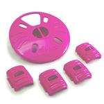 View Image 1 of Aikiou Dog Feeding Toy - Level 2 Inserts - Pink