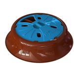 View Image 1 of Aikiou Junior Dog Feeding Toy - Blue and Brown