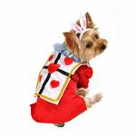 View Image 1 of Alice in Wonderland's White Rabbit Halloween Dog Costume