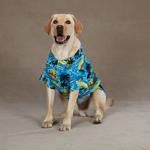 View Image 4 of Aloha Camp Shirt by Casual Canine - Blue