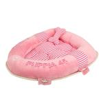 View Image 1 of Alpha Dog Bed by Puppia - Pink