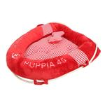 View Image 2 of Alpha Dog Bed by Puppia - Red
