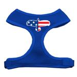 View Image 1 of American Flag Eagle Dog Harness - Blue