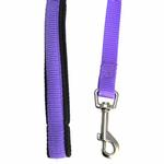 View Image 2 of American River Cushion Grip Dog Leash - Purple