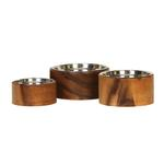 View Image 1 of Anderson Wooden Dog Bowl