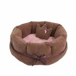 View Image 3 of Angelic Dog Bed by Pinkaholic - Brown