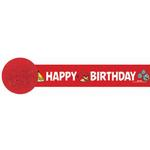 Angry Birds Party Supplies - Crepe Streamer