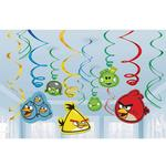 Angry Birds Party Supplies - Swirl Decorations