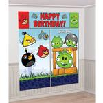 Angry Birds Party Supplies - Wall Decorating Kit