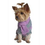 View Image 1 of Argyle Acrylic Dog Sweater with Matching Scarf