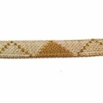 View Image 3 of Argyle Mode Dog Leash by Puppia - Beige