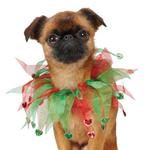 View Image 1 of Aria Holiday Heart Scrunchies for Dogs