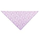 View Image 1 of Aria Sweetheart Chiffon Bandana - Purple