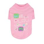 View Image 1 of Asking Dog Shirt by Puppia - Pink