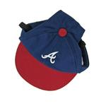 Atlanta Braves Dog Hat