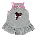 Atlanta Falcons Dog Dress - Gray