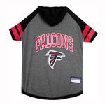 Atlanta Falcons Hooded Dog T-Shirt