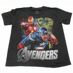 Avengers Clothing - Captain America, Iron Man and The Hulk T-Shirt