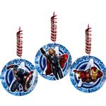 Avengers Party Supplies - Swirl Decorations
