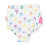 View Image 2 of Baby Bunny Dog Sanitary Pants by Pinkaholic - Snow White