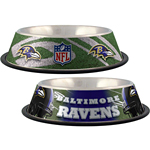 View Image 1 of Baltimore Ravens Dog Bowl
