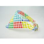 View Image 2 of Bandana Dog Collar - Checkered