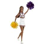 Barbie Doll - LSU Cheerleader Barbie Doll