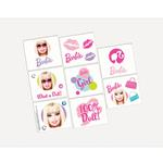 Barbie Party Supplies - All Doll'd Up Temporary Tattoo Favors