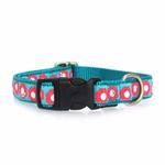 View Image 2 of Fido Finery Dog Collar - Teal My Heart