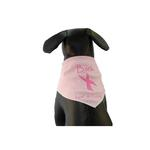 View Image 1 of Bark for a Cure Dog Bandana - Pink