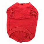 View Image 2 of Barkley's Cozy Dog Sweatshirt - Red